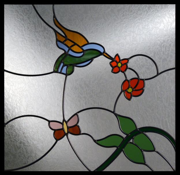 Butterflied hummingbirds